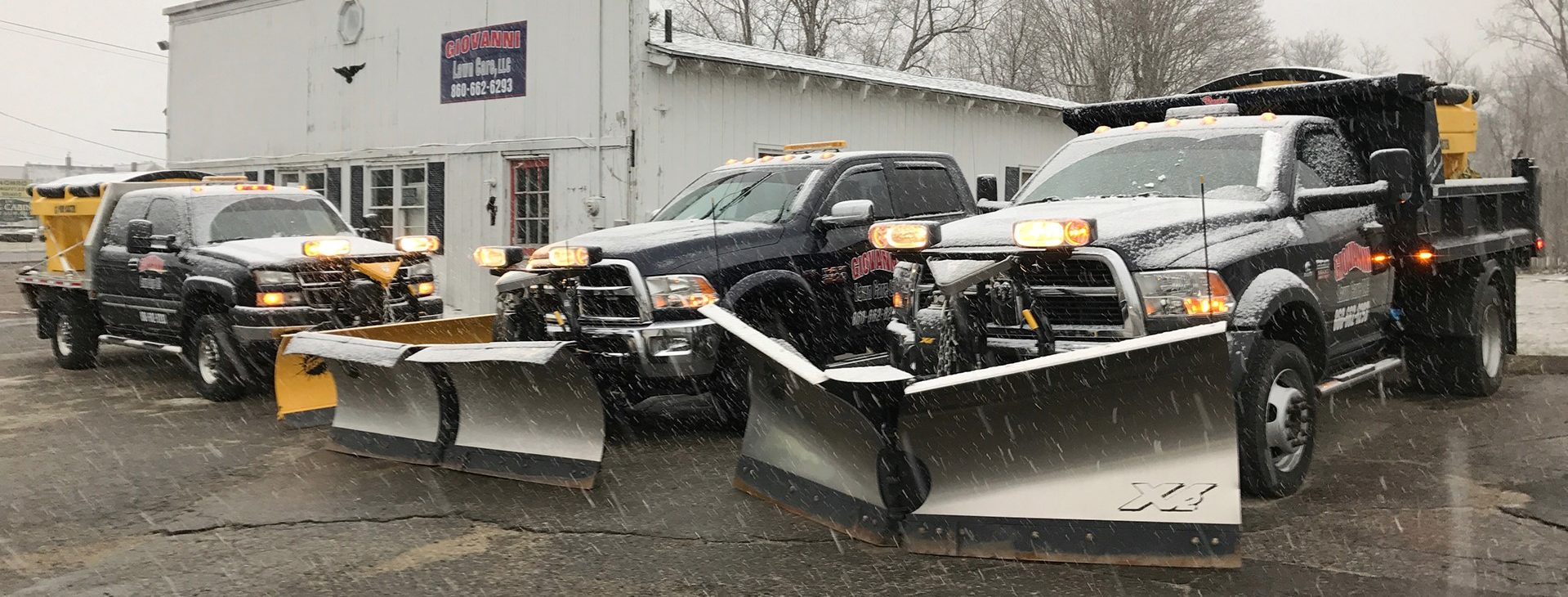 Snow and Ice removal services can be customized to fit your level of need.